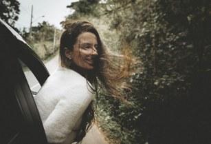 Women Exploring Road trip