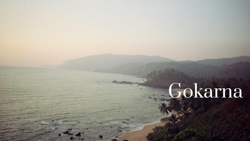best places to visit near bangalore -Gokarna